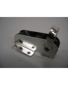 Gecombineerd blok; In-lijn staand- + doorvoerblok, 2-schijfs, naaldlagers, 8 mm