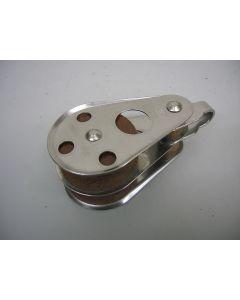 RVS Blok, 2-schijfs, 12 - 13 mm
