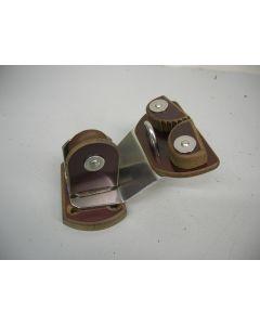 Grootschootblok, voetblok, 1-schijfs, tot 10 mm