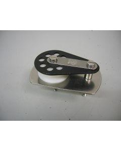 Keerblok, Dekblok, Schildpadblok, 12 - 13 mm