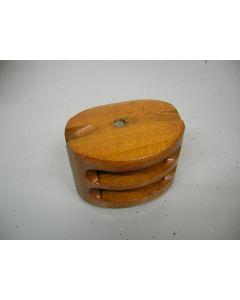 Stropblok, 2-schijfs, 8 - 10 mm