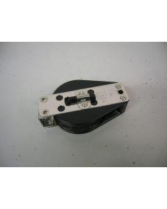 Harken Ratelkeerblok, 1-schijfs, kogellagers, 10 mm, SB