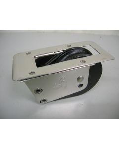 Staand doorvoerblok, 1-schijfs, naaldlagers, 12 mm