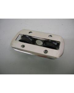 In-lijn, staand, 2-schijfs, doorvoerblok, naaldlagers, 8 mm