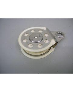 Ratelblok, 1-schijfs, tot 12 mm