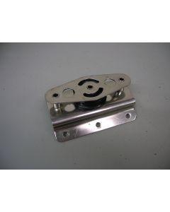 RVS Mast / GIEK keerblok, 1-schijfs, 10 - 12 mm