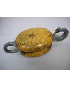 Klauwvalblok, 1-schijfs, hondsvot, 10 - 12 mm