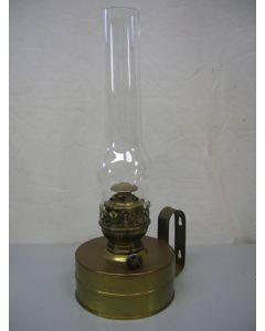 Kombuislamp, tafellamp, wandlamp, olielamp, messing, DHR