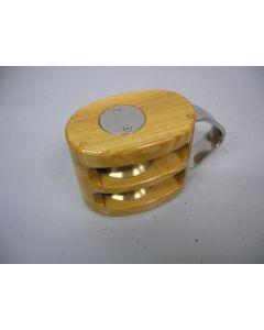 Blok, 2-schijfs, 12 - 14 mm