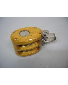 Blok, 2-schijfs, 10 - 12 mm