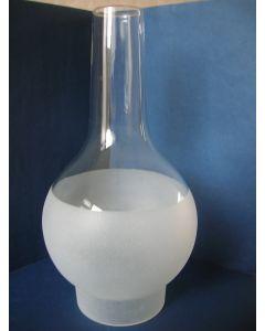 Buikglas, 93 x 280 mm, gematteerd