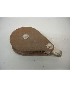 Blok, 1-schijfs, 14 - 16 mm, binnenbeslag, grote schijf