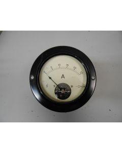 Klassieke ampèremeter, analoog, 0 - 25 amp.