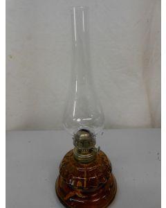 Tafellamp, olielamp, glas