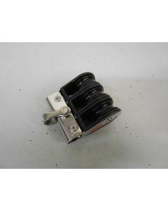 Ronstan blok, 3-schijfs, kogellagers, 8 mm